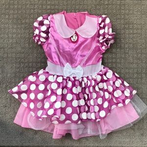 Other - Disney Minnie Mouse Dress- Up Costume 2T
